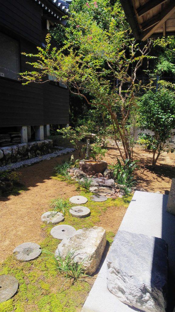 寺 苔飛び石2
